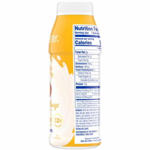 Kroger® CarbMaster® Tropical Mango Protein Smoothie Perspective: right