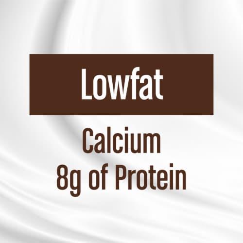 Kroger® 1% Lowfat Chocolate Milk Perspective: right