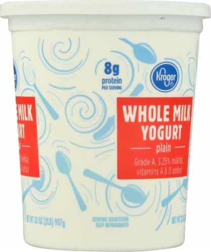 Kroger® Whole Milk Plain Yogurt Perspective: right