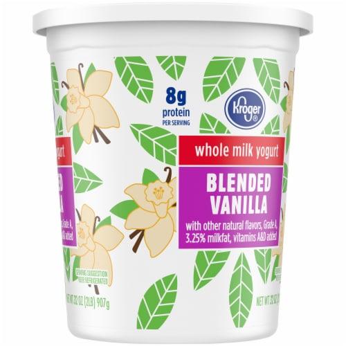 Kroger® Whole Milk Blended Vanilla Yogurt Perspective: right