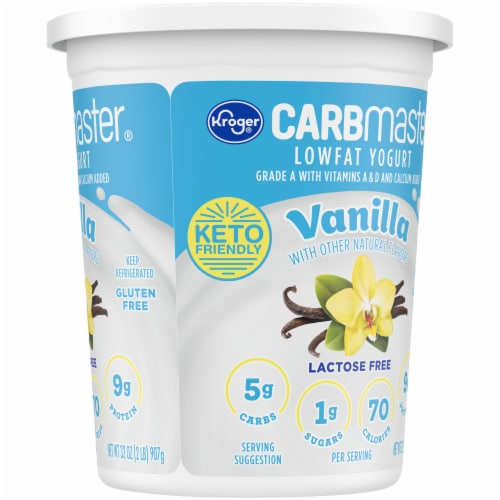 Kroger® CarbMaster® Vanilla Cultured Dairy Blend Perspective: right