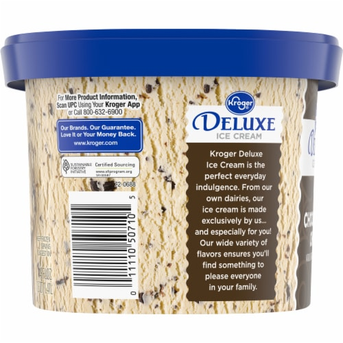 Kroger® Deluxe Chocolate Chip Ice Cream Perspective: right