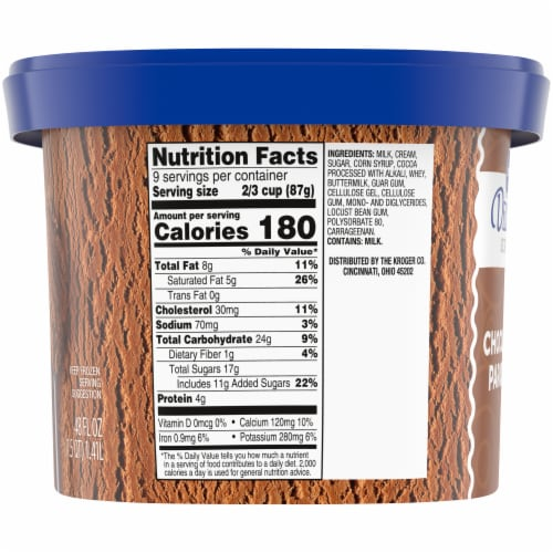 Kroger® Deluxe Chocolate Paradise Ice Cream Perspective: right