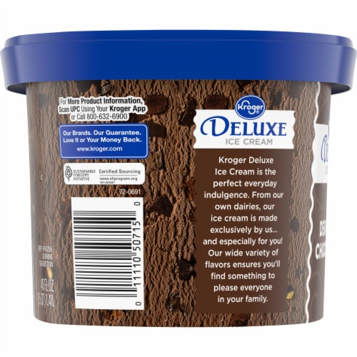 Kroger® Deluxe Death By Chocolate Ice Cream Perspective: right