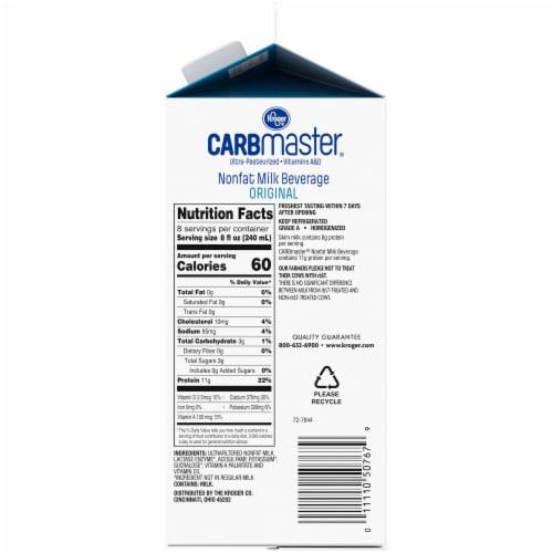 Kroger® CarbMaster Original Nonfat Lactose Free Milk Beverage Perspective: right