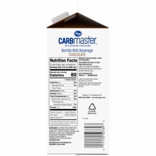 Kroger® CarbMaster® Chocolate Nonfat Milk Beverage Perspective: right
