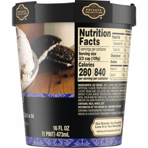 Private Selection® Cookies & Cream Ice Cream Perspective: right