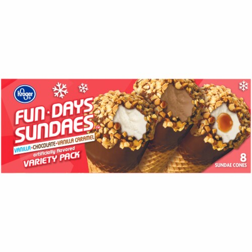Kroger® Fun Days Sundaes Variety Pack Perspective: right