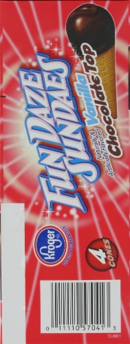 Kroger® Fun Daze Sundaes Vanilla Chocolate Top Perspective: right