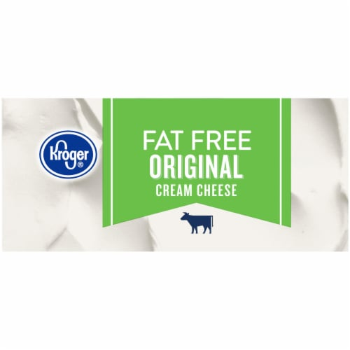 Kroger® Fat Free Original Cream Cheese Perspective: right