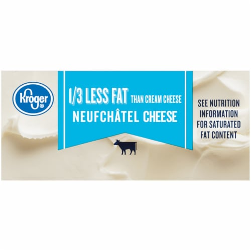Kroger® Neufchatel Low Fat Cheese Perspective: right