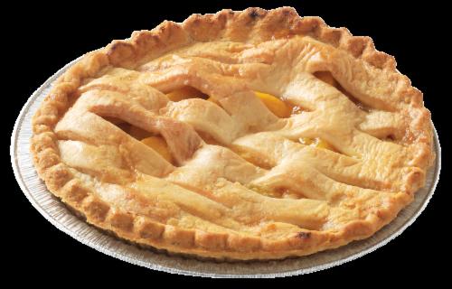 Private Selection™ Peach Lattice Pie Perspective: right