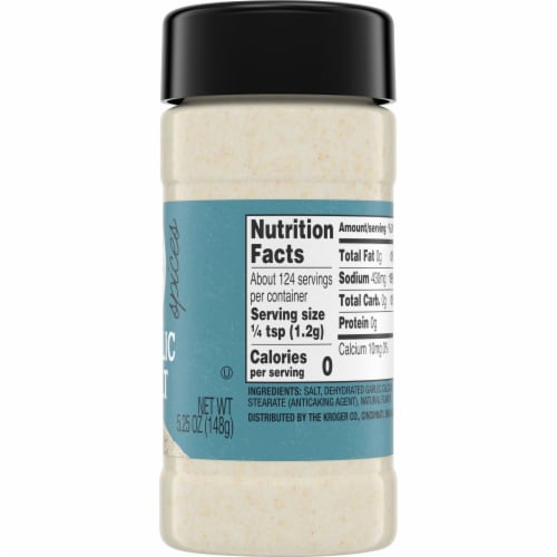 Smidge & Spoon™ Spices Garlic Salt Perspective: right