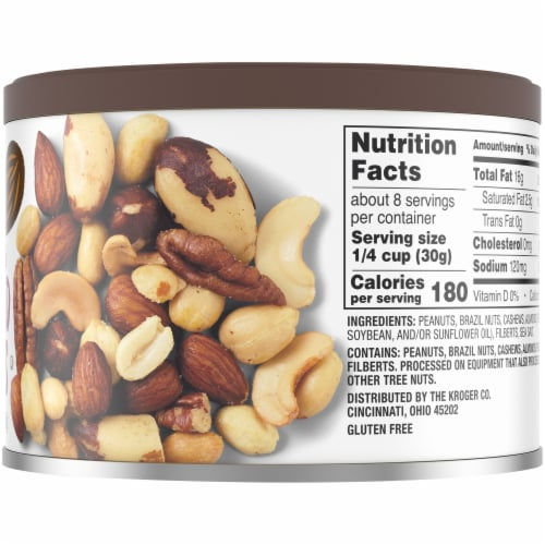 Nutty by Nature Sea-Salted Mixed Nuts Perspective: right