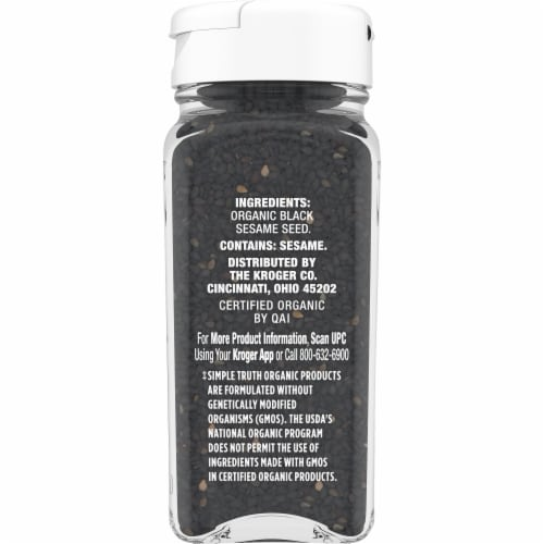 Simple Truth Organic™ Black Sesame Seed Perspective: right