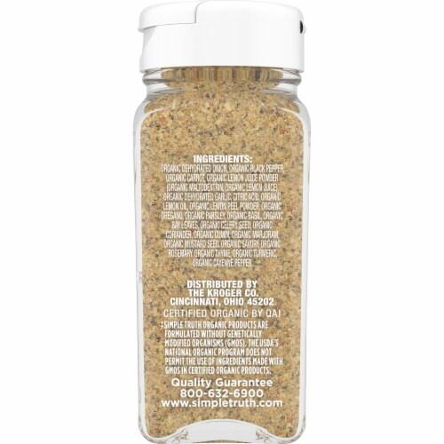 Simple Truth Organic™ Salt Free Lemon Pepper Seasoning Perspective: right