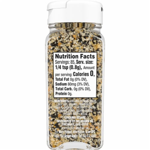 Simple Truth Organic™ Everything Bagel Seasoning Blend Perspective: right