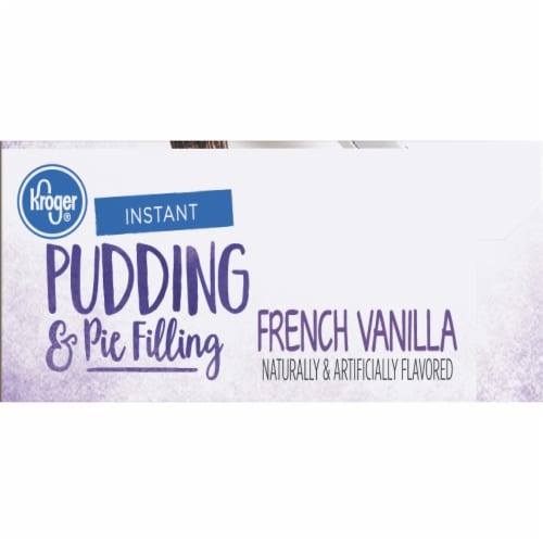 Kroger® French Vanilla Instant Pudding & Pie Filling Perspective: right
