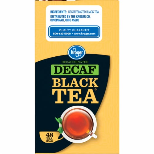 Kroger® Decaffeinated Black Tea Bags Perspective: right