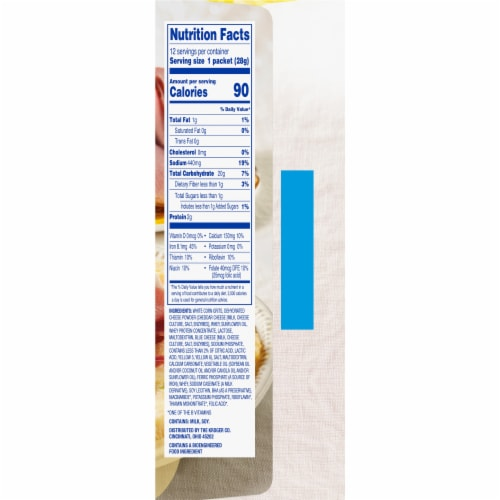 Kroger® Instant Cheddar Cheese Grits Perspective: right