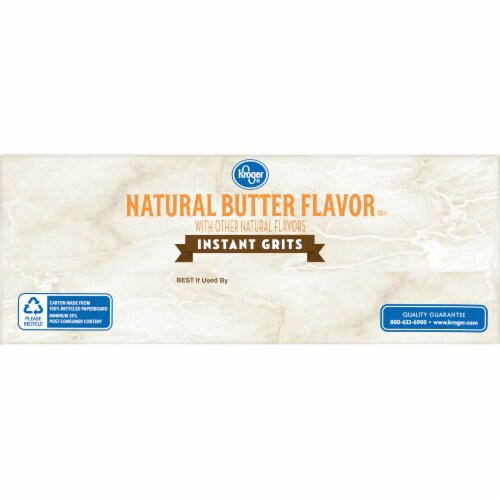 Kroger® Natural Butter Flavor Instant Grits Perspective: right