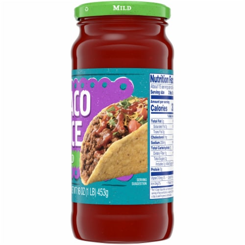 Kroger® Mild Taco Sauce Perspective: right