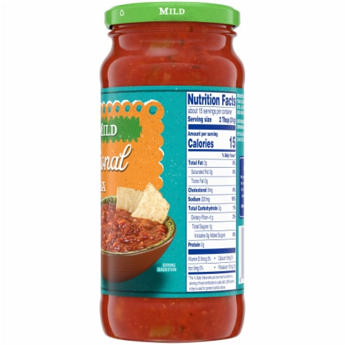 Kroger® Traditional Mild Salsa Perspective: right