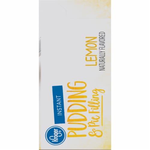 Kroger® Lemon Instant Pudding & Pie Filling Perspective: right