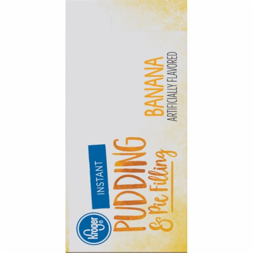 Kroger® Instant Banana Pudding & Pie Filling Perspective: right
