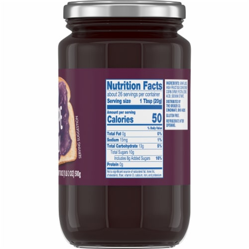 Kroger® Grape Jelly Perspective: right