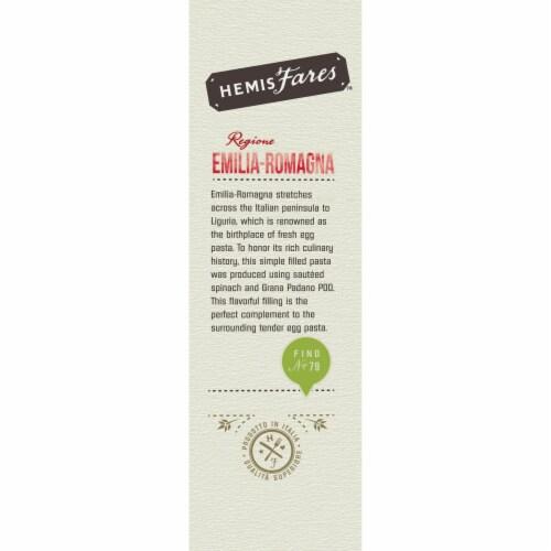 HemisFares Spinach & Grana Padano Filled Pasta Perspective: right