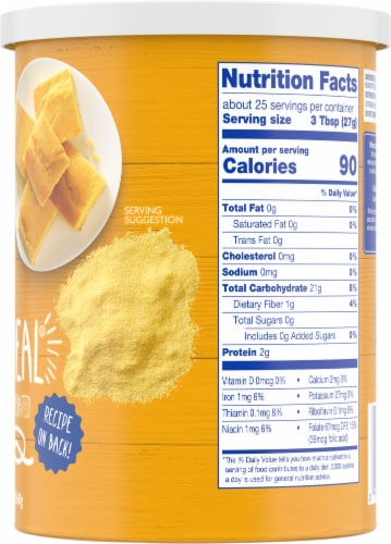 Kroger® Yellow Corn Meal Perspective: right
