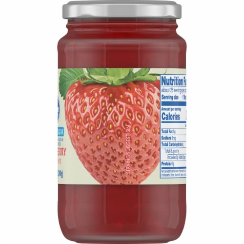 Kroger® Reduced Sugar Strawberry Preserves Perspective: right