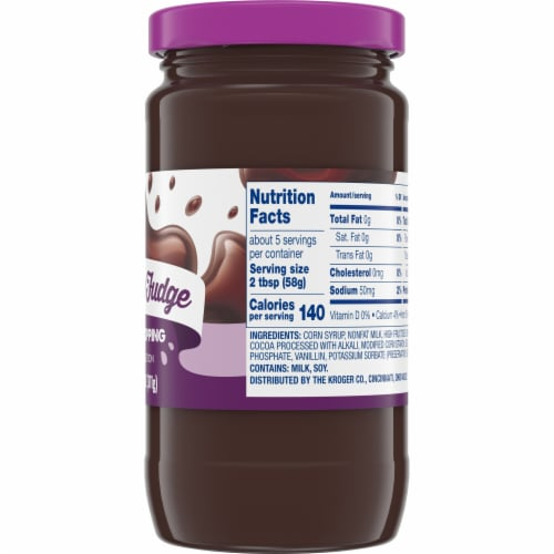 Kroger®  Chocolate Fudge Dessert Topping Perspective: right