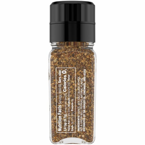 Private Selection™ Garlic & Pepper Seasoning Grinder Perspective: right