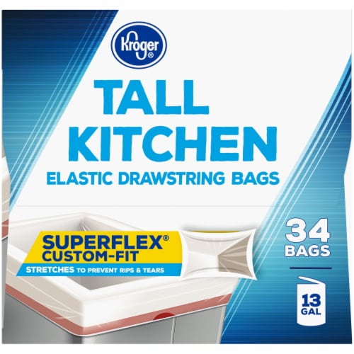 Kroger® Tall Kitchen Super Flex Bags Perspective: right