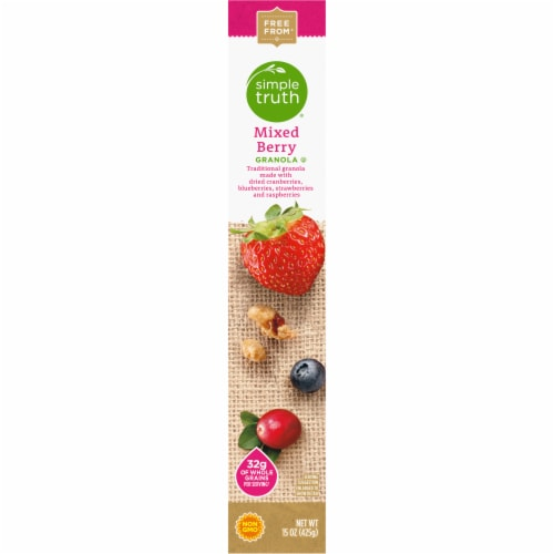 Simple Truth® Mixed Berry Granola Perspective: right