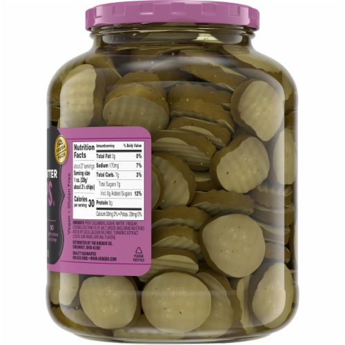 Kroger® Bread & Butter Pickle Chips Perspective: right