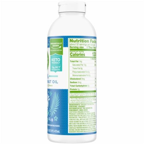 Simple Truth Organic® 100% Refined Liquid Coconut Oil Perspective: right