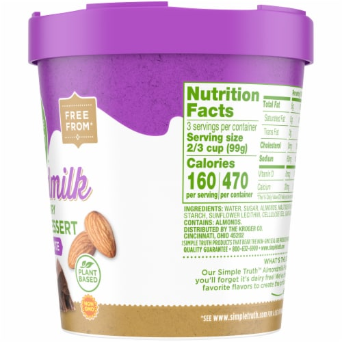 Simple Truth™ Chocolate Almond Frozen Dessert Perspective: right