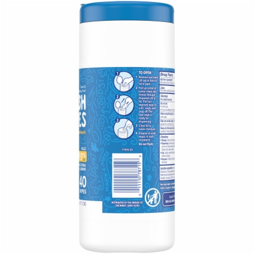 Kroger® Anti Bacterial Moist Wipes Perspective: right