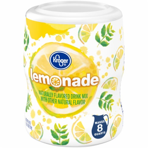 Kroger® Old Fashioned Lemonade Drink Mix Perspective: right