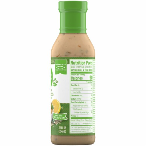 Simple Truth Organic® Creamy Goddess Dressing Perspective: right