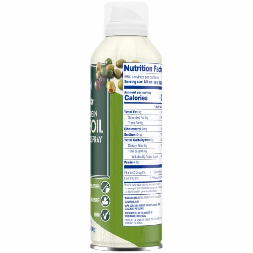 Kroger® Non-Stick Extra Virgin Olive Oil Cooking Spray Perspective: right