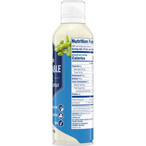 Kroger® Non Stick Vegetable Oil Cooking Spray Perspective: right