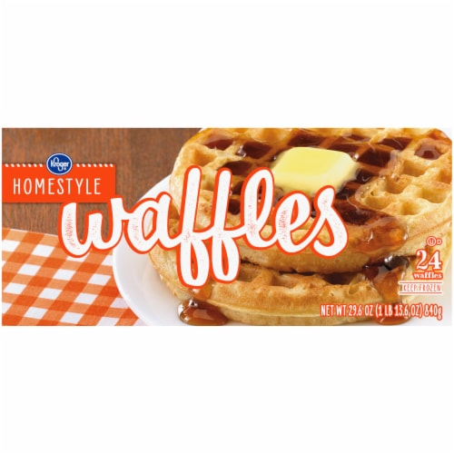 Kroger® Homestyle Waffles Perspective: right