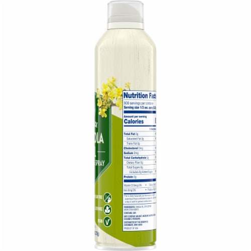 Kroger® Non Stick Canola Oil Cooking Spray Perspective: right