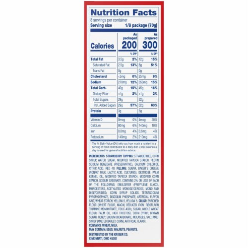 Kroger® Strawberry Cheesecake Dessert Mix Perspective: right