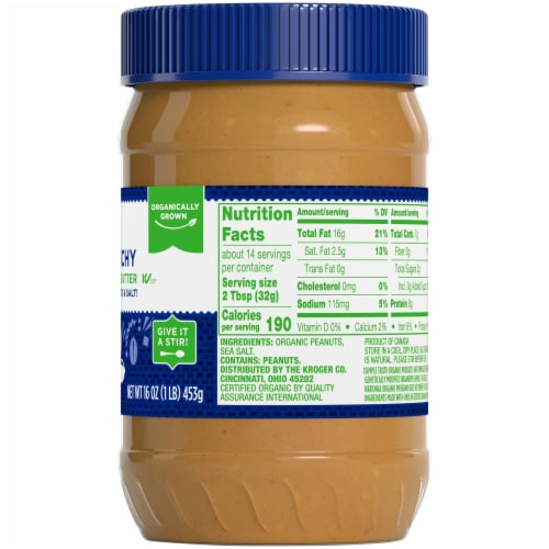 Simple Truth Organic® Crunchy Peanut Butter Perspective: right