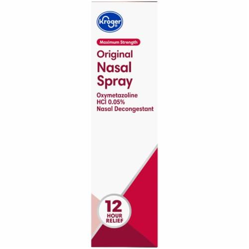 Kroger® Maximum Strength Original Nasal Spray Perspective: right